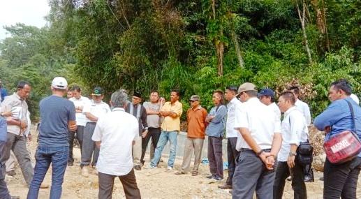 Ketua DPW Pekat IB Sumbar Sayangkan Pembangunan Embung Talago Mumbuang Terendam Air Melebihi Kewajaran