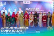 Ciptakan Kreatifitas Tanpa Batas, TP PKK Padang Panjang Gelar Lomba Busana Muslim Pai Baralek