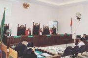 Dinilai Kasus di Paksakan Atas Laporan Bupati Pessel, Rusma Yul Anwar Memohon Kepada Majelis Hakim Untuk di Bebaskan