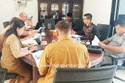 Terkait Progres, Komisi III DPRD Mentawai RDP Bersama Disparpora dan DKPP