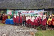 Mengingat Kembali Peninggalan Sejarah Minagkabau, SMP 3 Pariangan Gelar Pentas Seni