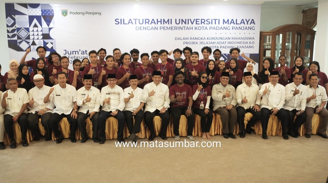 Jelajah Adat Indonesia, Universiti Malaya Kunjungi Kota Padang Panjang