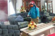 Penanganan Corona, Tim Gugus Tugas Mentawai Habiskan 6 Ton Disinfektan Untuk Fasum