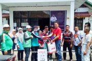 Fraksi PKB DPRD Kota Padang Panjang Salurkan Alat Semprot Beserta Cairan Disinfektan di Kelurahan Pasar Usang