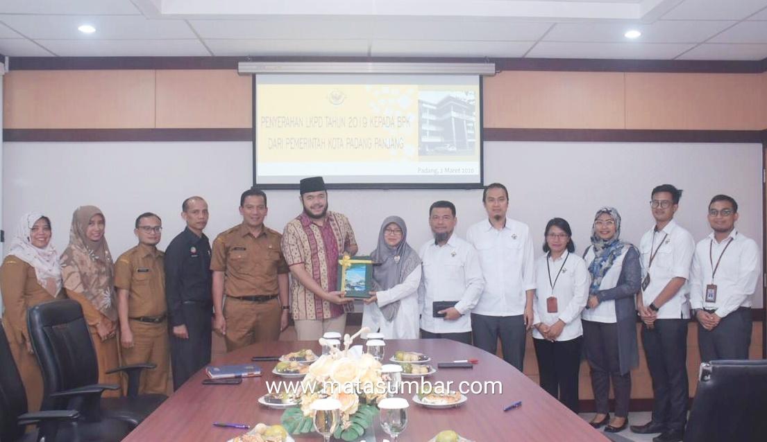 LKPD Kota Padang Panjang Anggaran Tahun 2019 Rampung, Lebih Cepat Dari Tahun Sebelumnya