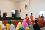 Selewengkan Dana Desa Rp. 912 Juta, Tiga Orang Mantan Aparat Desa Nemnemleleu di Tuntut 7 Tahun Penjara