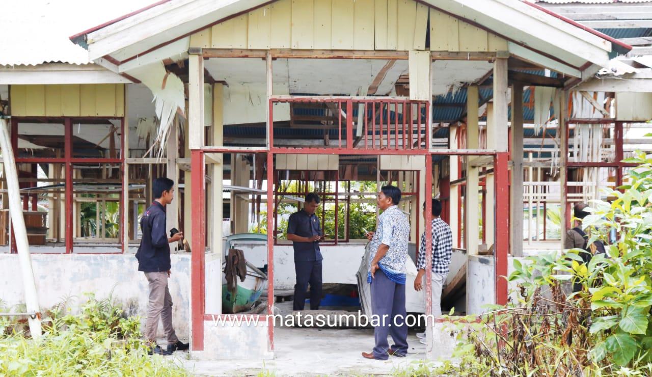 Miris! Anggaran 700 Juta Pembangunan Asrama Putri di Sioban Hancur Begitu Saja