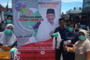 Peduli Cegah Covid 19, Relawan Rusma Yul Anwar Bagikan Masker untuk Masyarakat