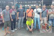 Diduga Mencuri Truk, Polres Dharmasraya Mengamankan Pelaku di Tiumang