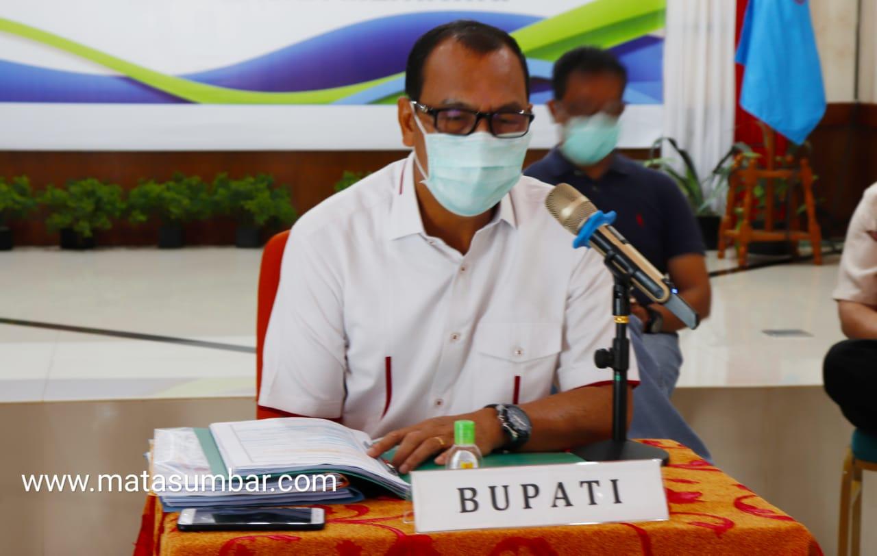 Ketua Gugus Tugas Mentawai Umumkan Satu Orang Pasien Terkonfirmasi Positif Covid-19