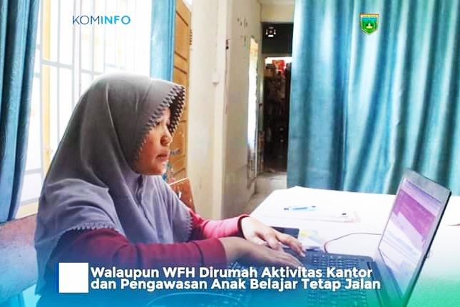 Pemko Padang Panjang Berlakukan WFH, Aktifitas Kantor dan Pengawasan Anak Tetap Jalan