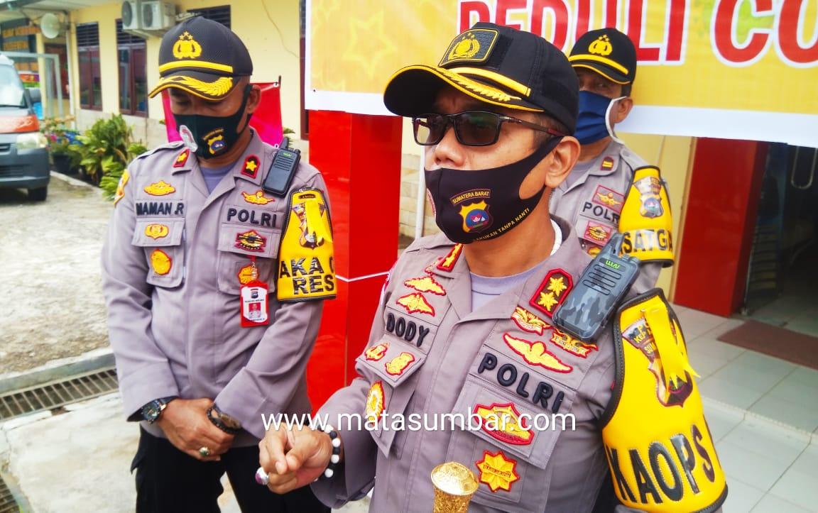Kapolres Mentawai : Pelanggar PSBB Akan di Berlakukan Penindakan Tegas