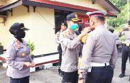 Memutus Rantai Corona, Polres Padang Panjang Inten Lakukan Pengawasan