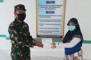 Dandim 0319/Mentawai Serahkan 50 APD dan Masker Untuk Tim Medis RSUD Mentawai