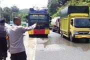 Maksimalkan Peyemprotan Disinfektan, Polres Pessel Turunkan Kembali Mobil Water Cannon Water