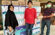 Kecintaan Terhadap Warga Sumbar, Fakhrizal Salurkan Ribuan Paket Sembako