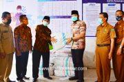Tak Bisa Mudik, Perantau Asal Padang Panjang Kirim 14 Ribu Masker Untuk 16 Kelurahan