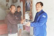 Legislator Partai Demokrat Bagikan Masker di Tiga Desa Kecamatan Sipora Selatan