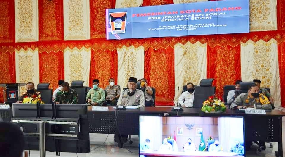 Pemko Padang Dukung Perpanjangan PSBB di Sumbar