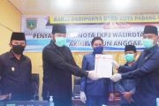 Walikota Padang Panjang Sampaikan Laporan LKPJ Tahun 2019