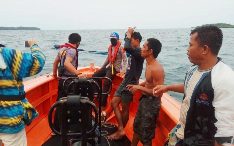 Dihantam Ombak, Tiga Nelayan Berhasil di Selamatkan Tim Gabungan SAR Mentawai