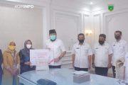 BNI Padang Panjang Salurkan 150 Paket Sembako Untuk Masyarakat Terdampak Covid-19