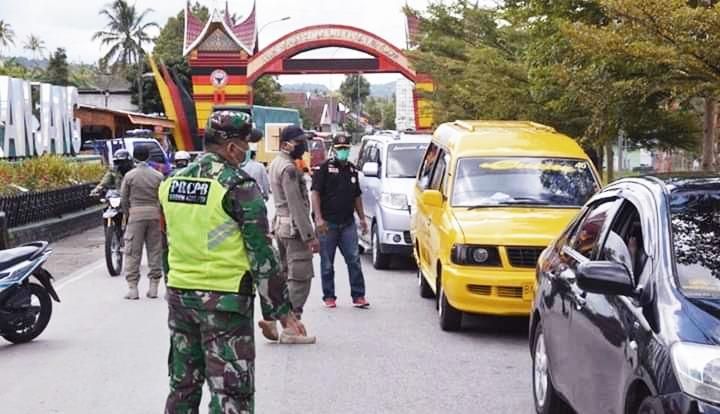 Pos Pemantauan Covid-19 di Padang Panjang, Pengamanannya Diperketat