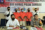 Kembali Ungkap Kasus Illegal Mining, Polda Sumbar Amankan Tiga Pelaku di Solsel