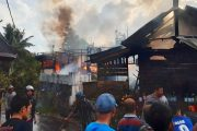 Breaking News : Lima Rumah di Jorong Koto Hiling Ludes Dilalap Sijago Merah