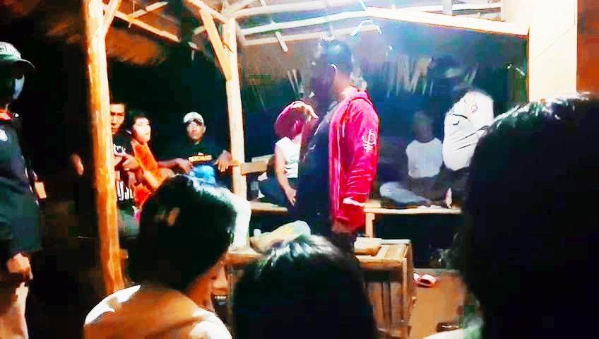 Polsek Sipora Kembali Tindak 4 Pria dan 3 Wanita Sedang Berkumpul di Kedai