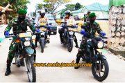 Tegakkan Disiplin Kesehatan Masyarakat, Gabungan TNI-Polri di Mentawai Gencarkan Patroli