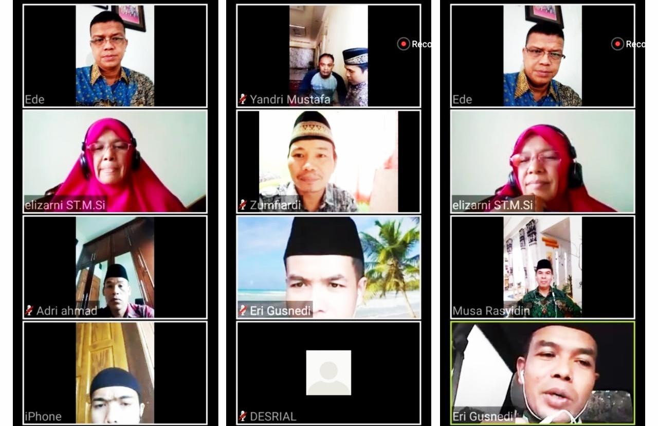 Melalui Zoom Meeting, RITVone Bersama FEM Dorong Pemanfataan Media Digital Untuk Berdakwah