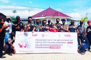 DPD Pekat IB Padang Pariaman Terima Bantuan 1000 Kg Beras Dari PT.HK.Infrastruktur Untuk di Salurkan Kepada Masyarakat