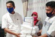 Dibekali APD, Dinsos Tetap Melayani Masyarakat Selama Pandemi Corona
