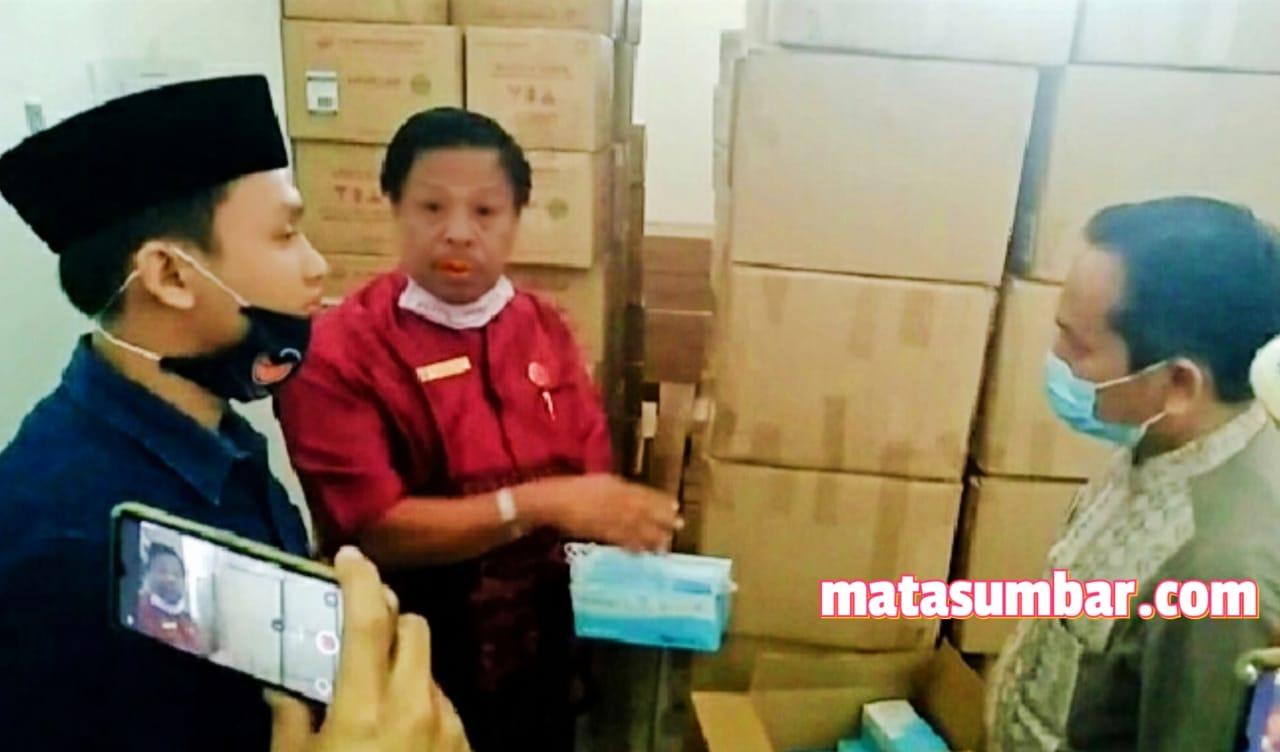 Kecewa APD Belum di Salurkan, DPRD Sidak Gudang Farmasi Dinkes Pasbar