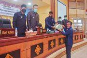 Lima Fraksi DPRD Padang Panjang Sampaikan Pandangan Umum Terhadap 3 Ranperda