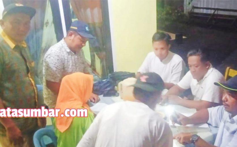 Lembaga Bamus Pastikan Penerima BLT Kabupaten Agam Tahap Awal Tepat Sasaran