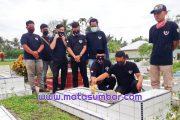 Peringati Hari Pancasila, 234 SC Regwil Pasbar Tabur Bunga dan Aksi Bersih Makam Pahlawan