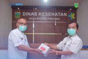 Disperindag IKM Sumbar Salurkan 72 Alat Rapid Test Kepada DKK Padang Panjang
