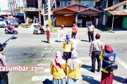 New Normal di Pasbar, Petugas Gabungan Lakukan Sosialisasi dan Himbauan