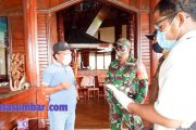 Memasuki New Normal, Koramil 04/Sikakap Cek Kesiapan Resort dan Perusahan