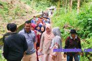 Wabup Pessel Tinjau Objek Wisata Jembatan Pelangi di Nagari Salido