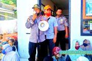 Pembagian BST Kemensos dan Provinsi, Wakapolsek Sikakap Ajak Masyarakat Untuk Memakai Masker