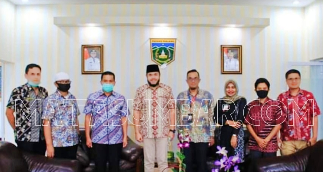 Wako Fadly Terima Kunjungan Manager PT Icon Plus Jakarta
