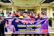 Polsek Sipora Sosialisasi Kekerasan Terhadap Perempuan dan Anak di Kecamatan Sipora Selatan