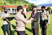 Purna Bhakti, Tiga Personel di Lepas Kapolres Padang Panjang