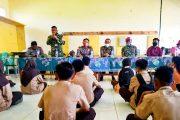 Prokes dan Kekerasan Terhadap Anak, Muspika Sosialisasikan di SMK 3 Sikakap