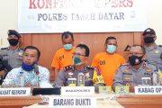 Dua Pelaku Pencurian di Tangkap Polres Tanah Datar, Dua Orang DPO