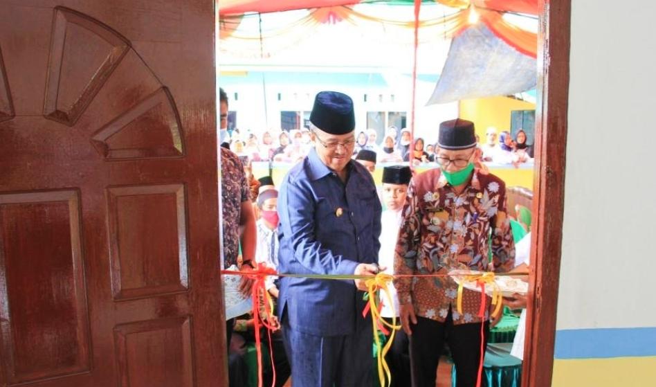 Alih Fungsi Mushala Nurul Ihsan Menjadi Masjid di Resmikan Bupati Solok