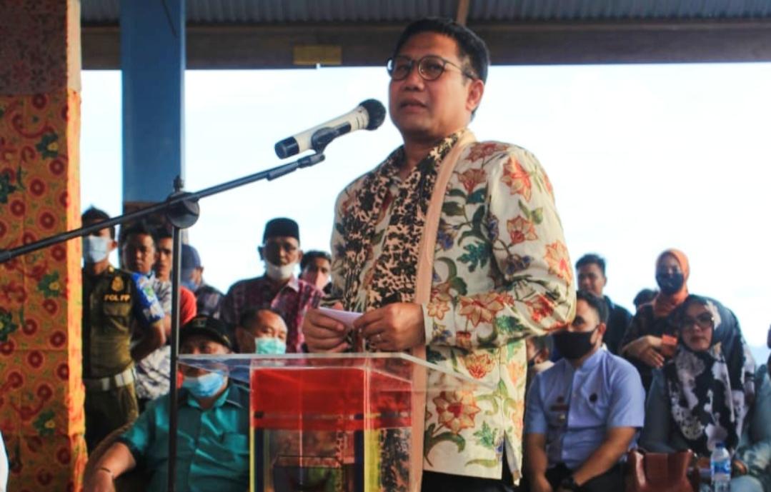 Sukses Berdayakan DD, Nagari Sungai Pinang Pessel di Kunjungi Mendes PDTT